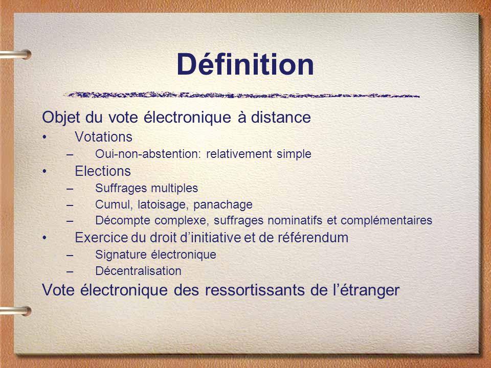 Problèmes constitutionnels Base légale Respect des droits fondamentaux Egalité –Ceux qui peuvent et ceux qui ne peuvent pas: le fossé numérique –Une discrimination indirecte.