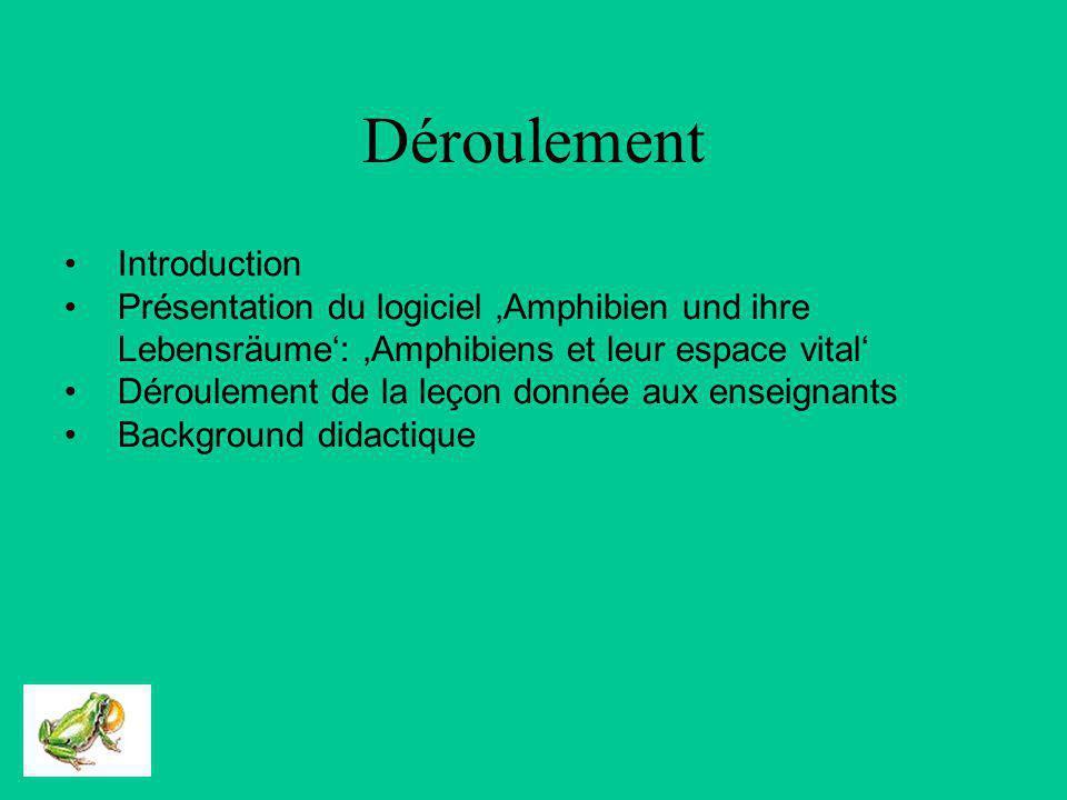 Introduction de lenseignement TIC pour des futurs enseignants Exemple: Logiciel décologie: