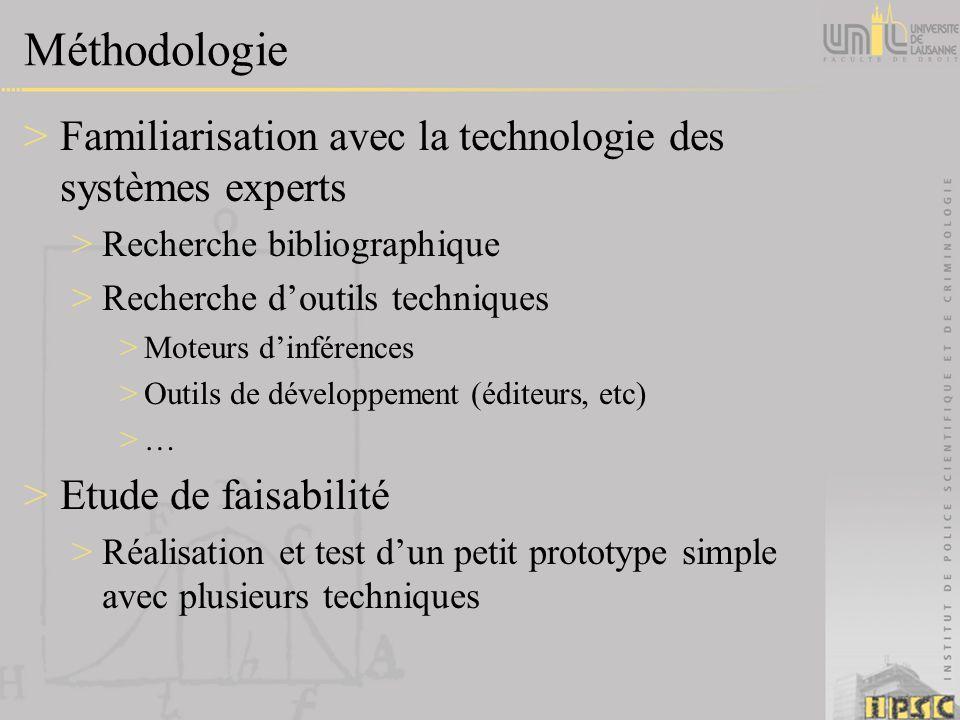 Méthodologie >Familiarisation avec la technologie des systèmes experts >Recherche bibliographique >Recherche doutils techniques >Moteurs dinférences >