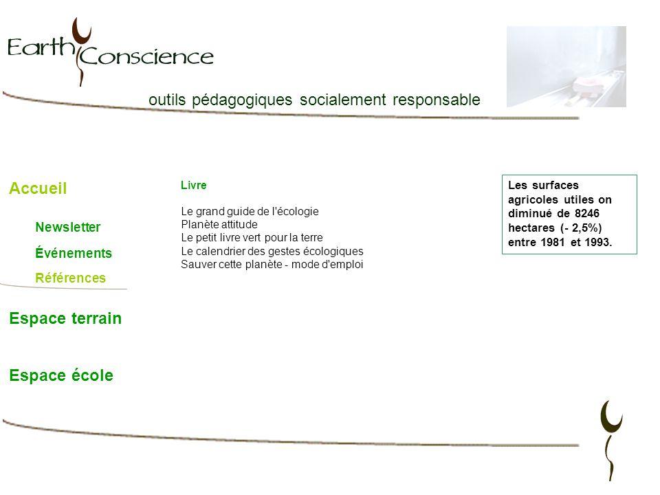 outils pédagogiques socialement responsable Accueil Espace terrain Espace école Livre Le grand guide de l'écologie Planète attitude Le petit livre ver