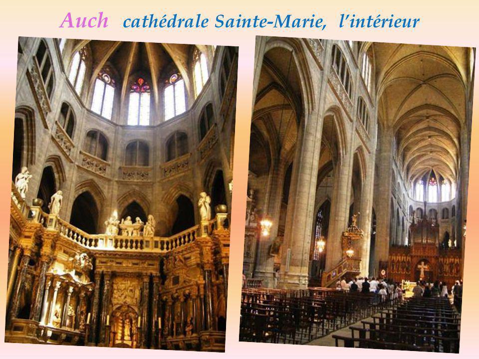 Cathédrale Ste-Marie, XVe siècle - Auch- Le Chœur