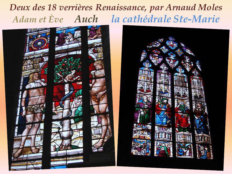 Auch cathédrale Sainte-Marie, lintérieur