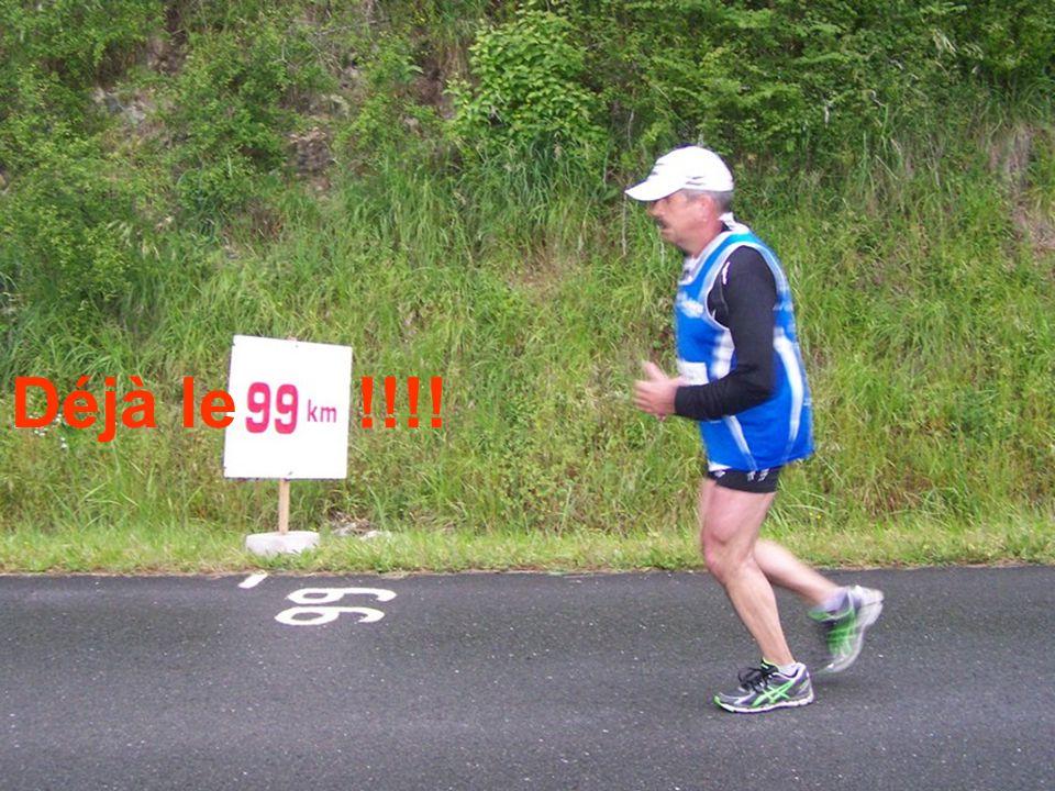 Denis na jamais été aussi frais au 90e km !!!