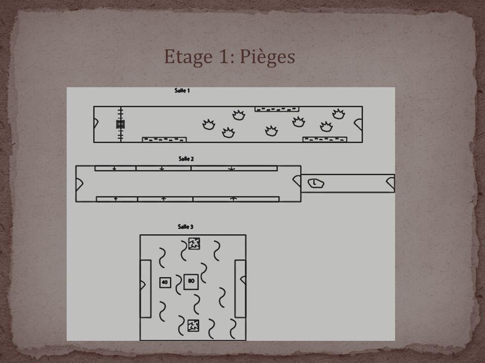 Etage 1: Pièges
