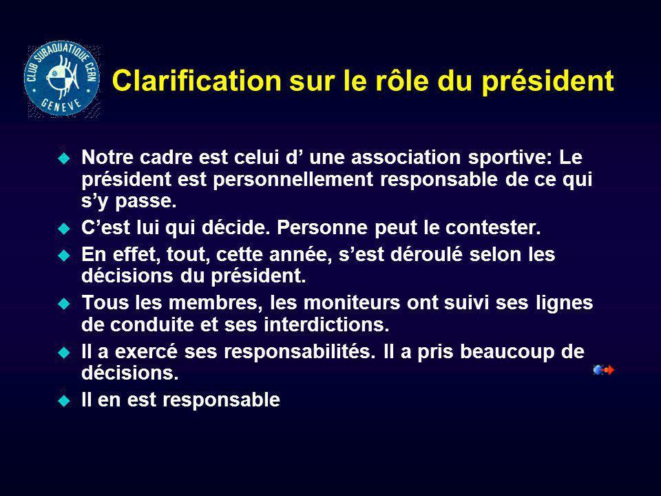 Révocation du Comité (suite) u Le No 408 (idem pag 96)