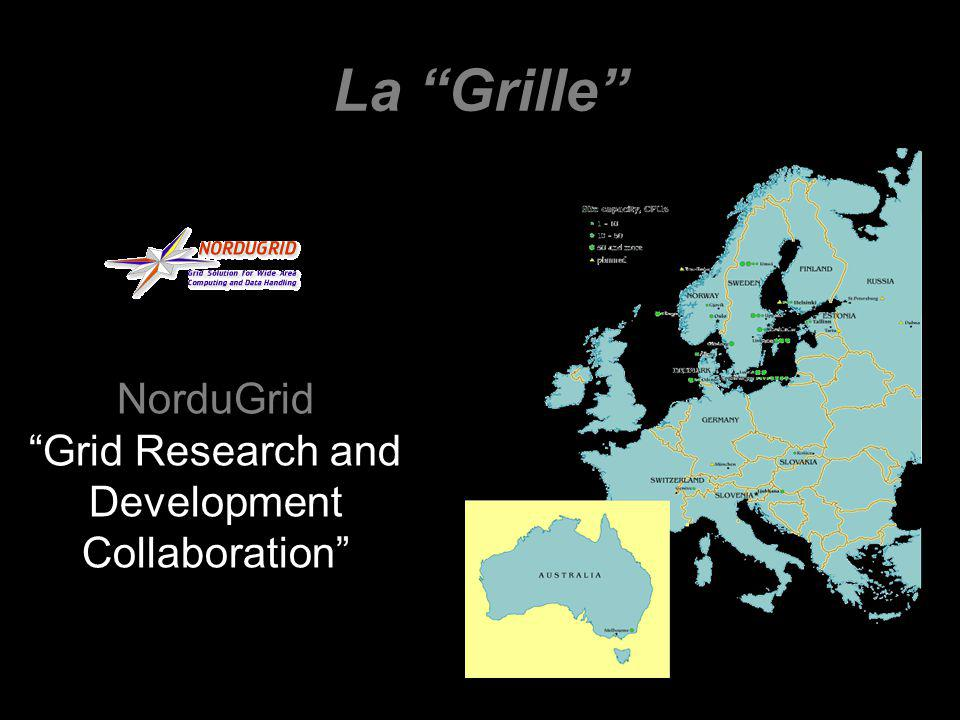 La Grille NorduGrid Grid Research and Development Collaboration