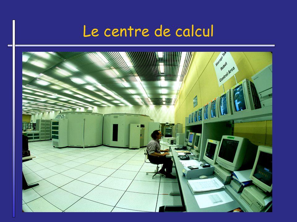 Le centre de calcul