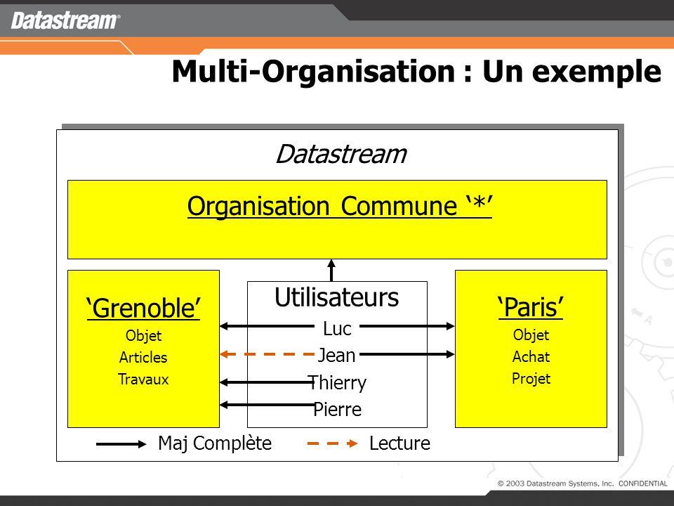 Multi – Organisation : Pourquoi >Pourquoi le multi-org .