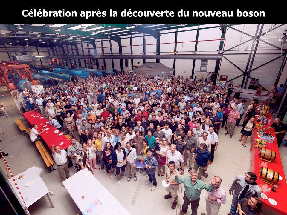20 Célébration après la découverte du nouveau boson