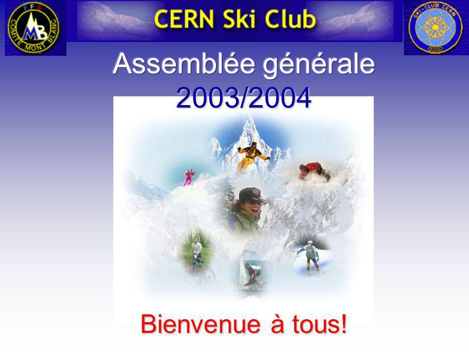 Ski de Randonnée (Ski Alpinisme) 90 membres, 13 chefs de course 90 membres, 13 chefs de course Journée sécurité: Journée sécurité: –Utilisation de l ARVA, orientation, igloo, etc.