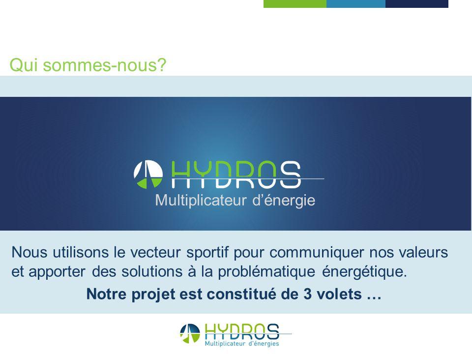Nous utilisons le vecteur sportif pour communiquer nos valeurs et apporter des solutions à la problématique énergétique. Notre projet est constitué de