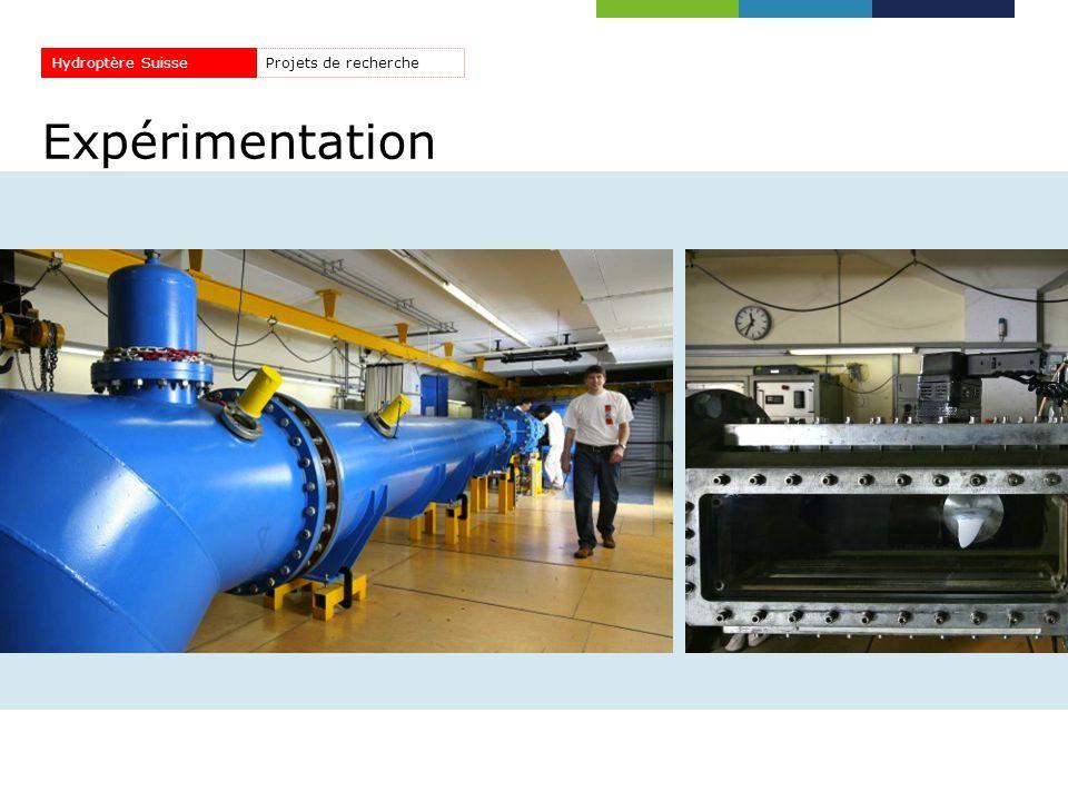 Expérimentation Projets de rechercheHydroptère Suisse
