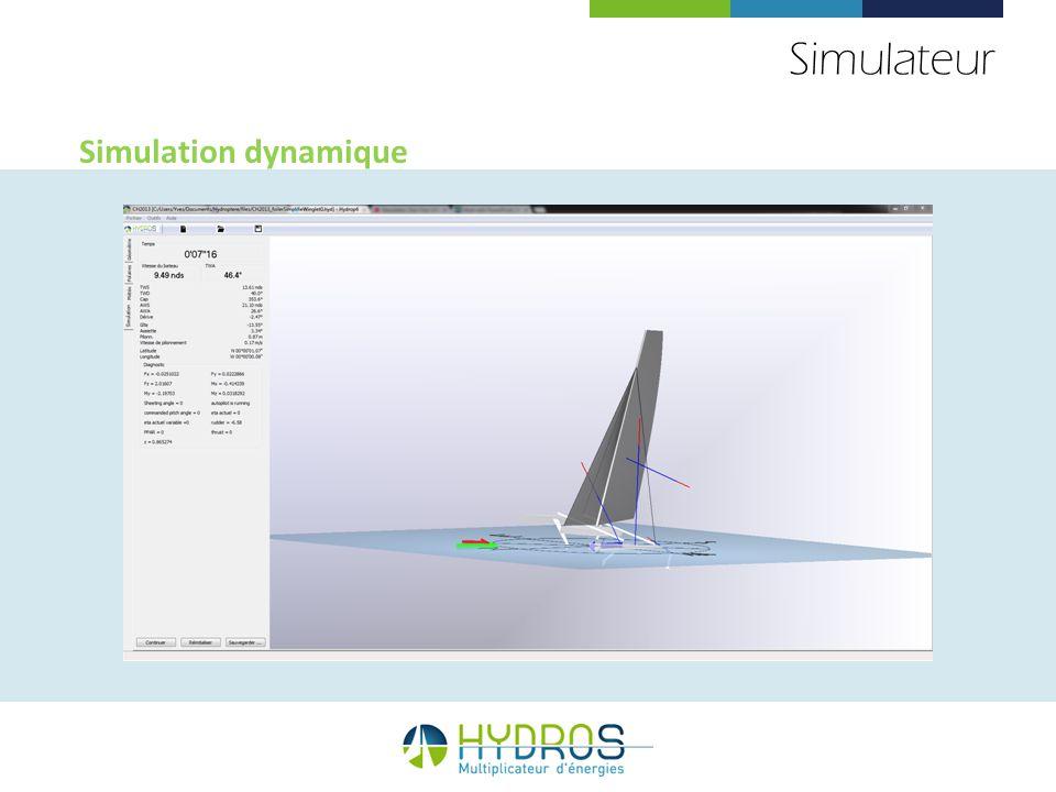 Simulateur Simulation dynamique