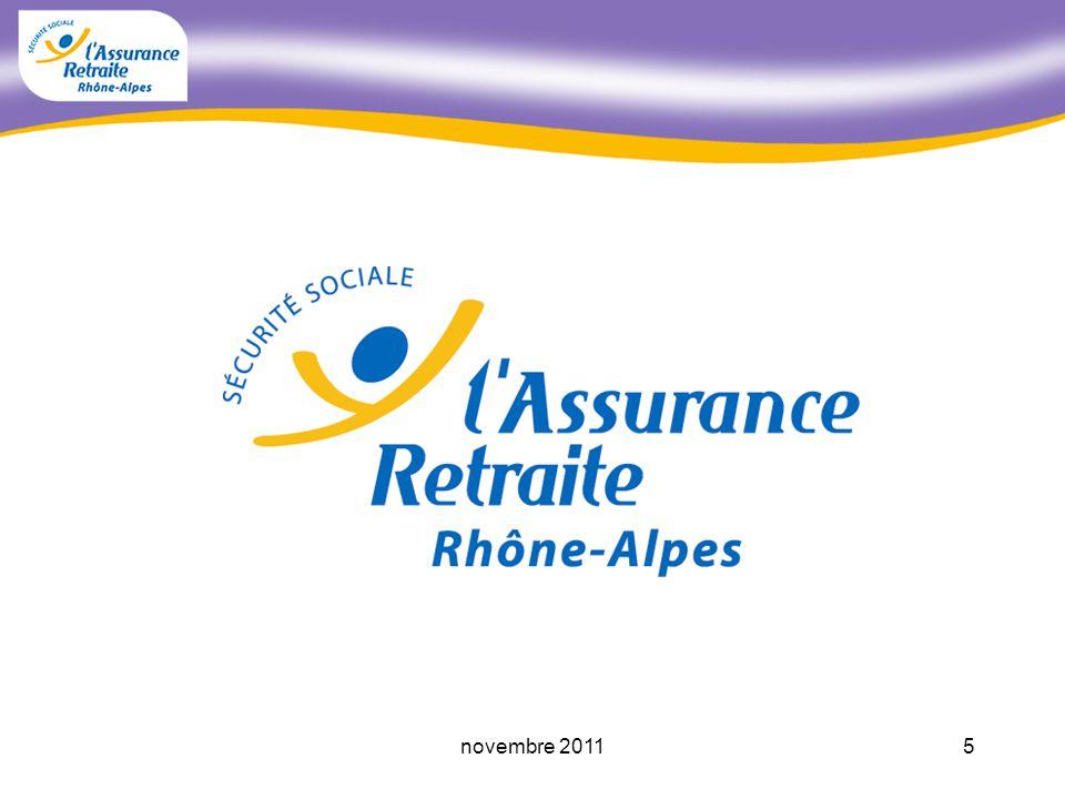 4novembre 2011 Préparer et payer les retraites Accompagner les assurés fragiles Prévenir les risques professionnelles, et assurer la santé et la sécurité au travail La CARSAT Rhône-Alpes