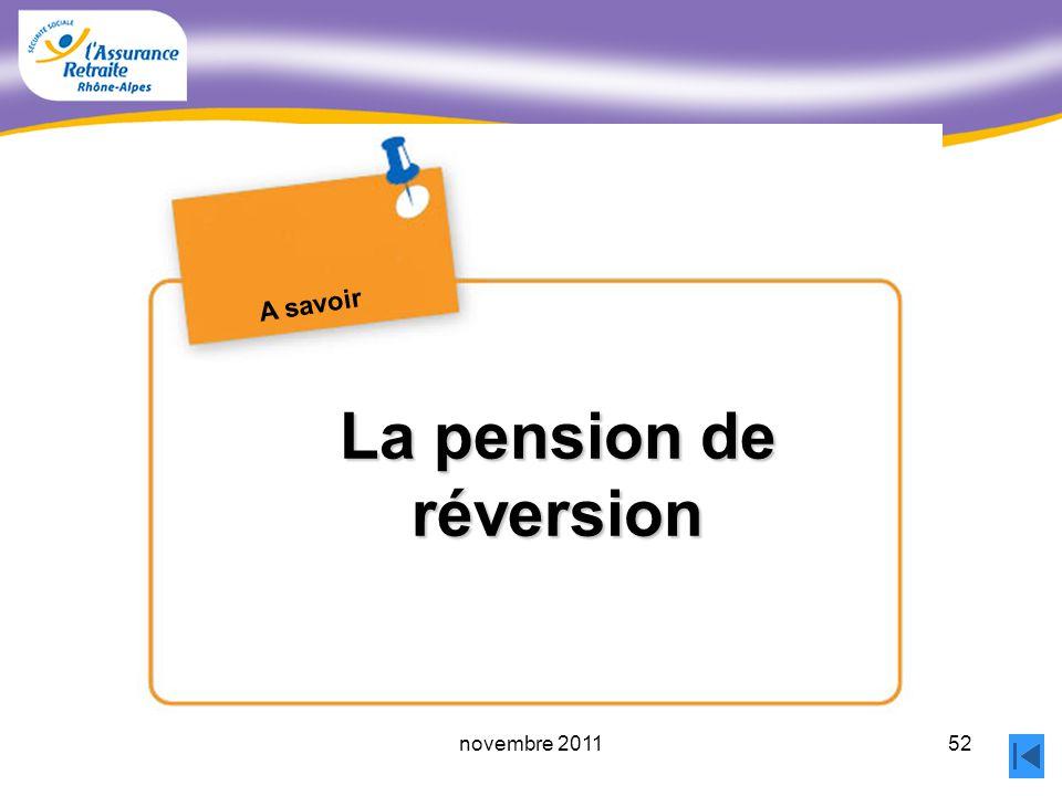 51novembre 2011 Les prélèvements sociaux Directive ministérielle 2010/3 du 22.02.2010 Les CSG et CRDS prélevées sur la retraite du R.G.