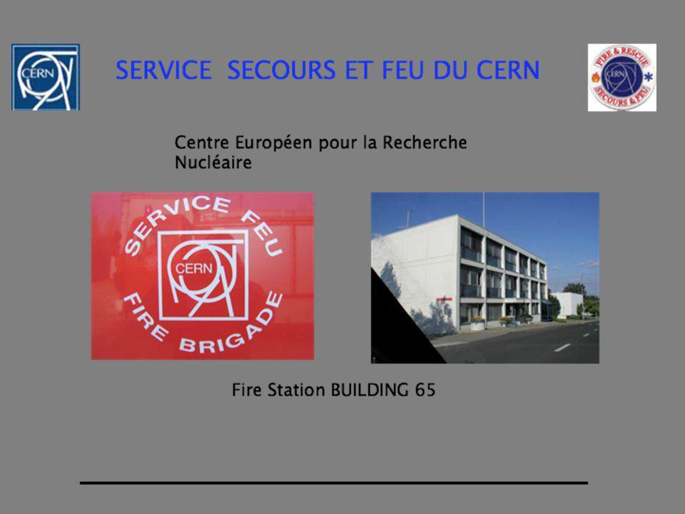 - Assurer la sécurité au CERN par la prévention et les interventions - Fournir les soins sanitaires durgence -Protéger la propriété et les biens du Cern -Autres MANDAT