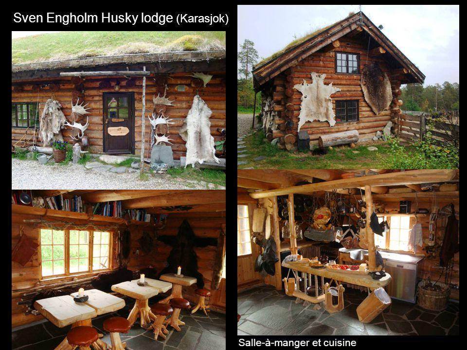 Sven Engholm Husky lodge (Karasjok) Salle-à-manger et cuisine