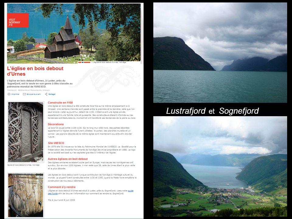 Lustrafjord et Sognefjord
