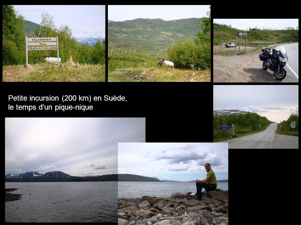 Petite incursion (200 km) en Suède, le temps dun pique-nique