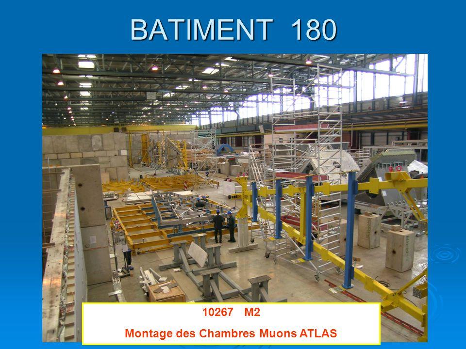 BATIMENT 180 10267 M2 Montage des Chambres Muons ATLAS