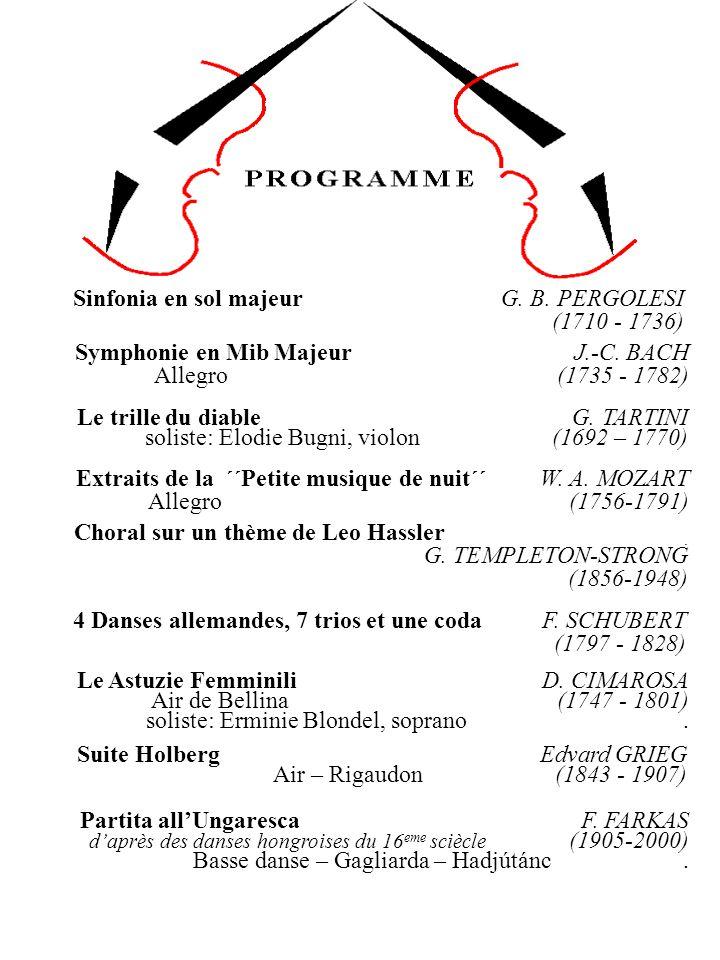 Le Astuzie Femminili D.CIMAROSA Air de Bellina (1747 - 1801) soliste: Erminie Blondel, soprano.