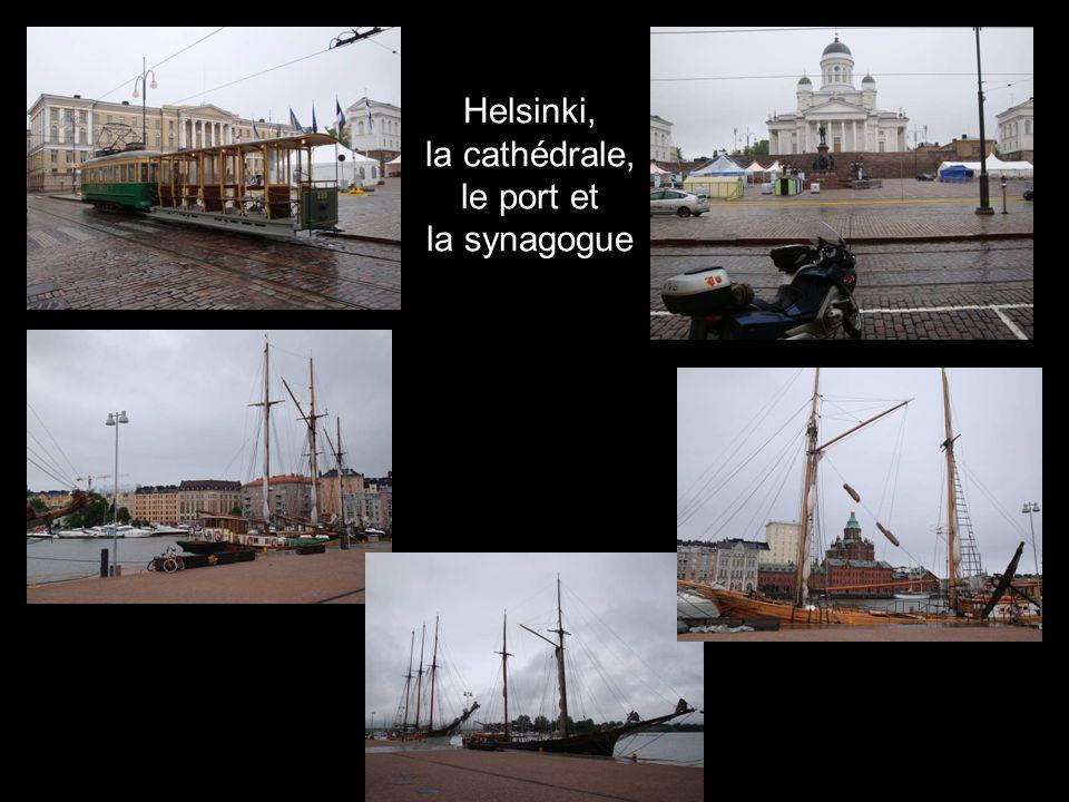 Helsinki, la cathédrale, le port et la synagogue