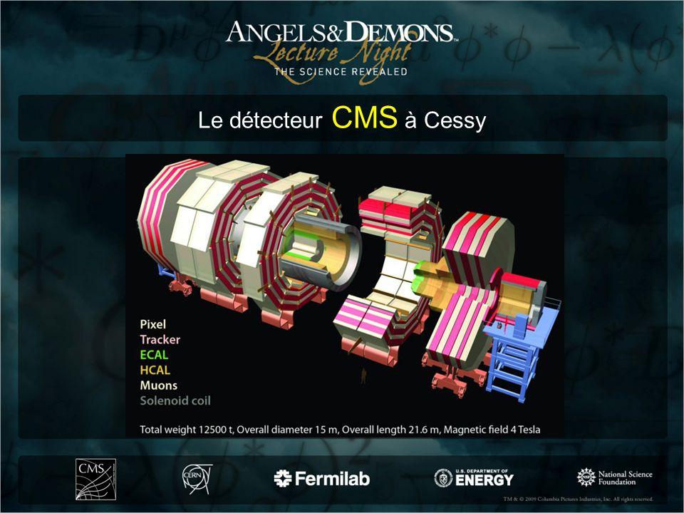 Le détecteur CMS à Cessy
