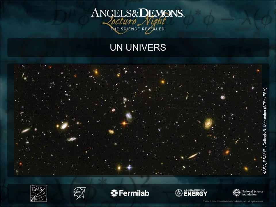 UN UNIVERS © NASA NASA, ESA/JPL-Caltech/B. Mobasher (STScI/ESA)