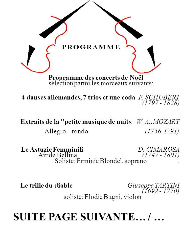 Suite Holberg Edvard GRIEG Air – Rigaudon (1843 - 1907) Programme des concerts de Noël sélection parmi les morceaux suivants (suite): Choral sur un thème de Leo Hassler.