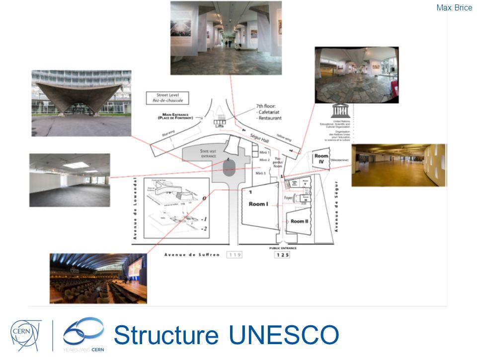 Structure UNESCO Max Brice