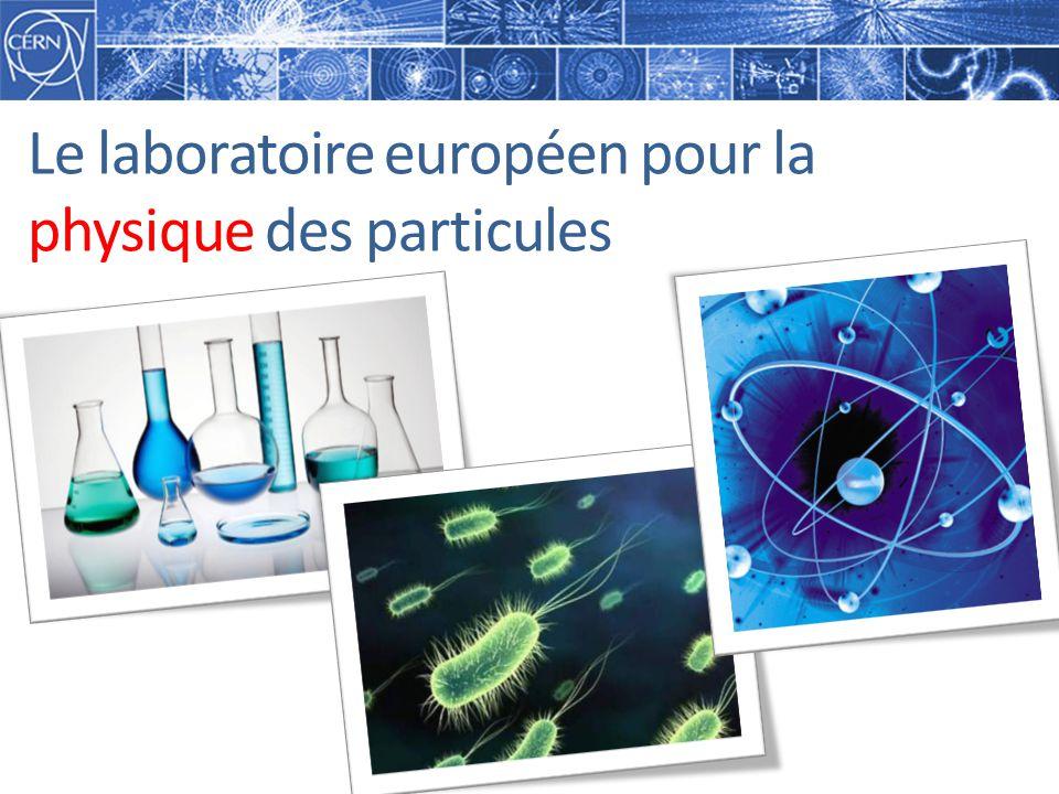 Le laboratoire européen pour la physique des particules