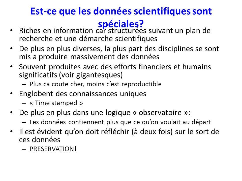 MASTODONS Multi-disciplinary Department of CNRS launched a call in April 2012: – Data exceeds storage – More science in Data Possible Directions: – Stockage et gestion de données (par exemple, dans le Cloud), sécurité, confidentialité.