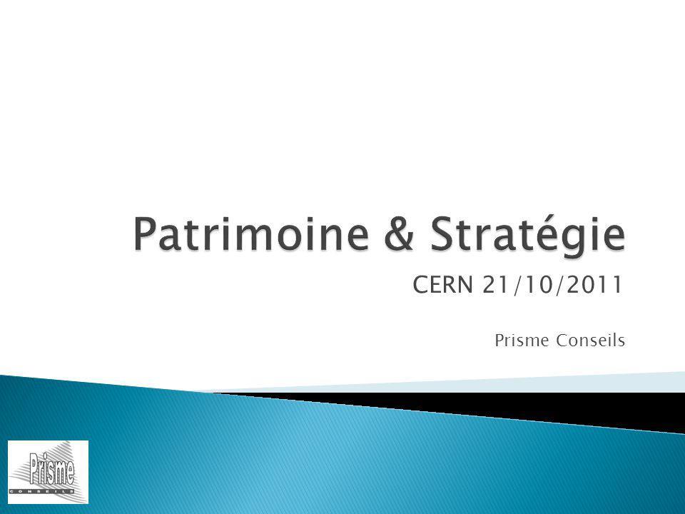 Anticiper Analyser Définir les objectifs Etablir une stratégie Choisir les solutions Mettre en œuvre les décisions Gérer laprès 21/10/2011 CERN2