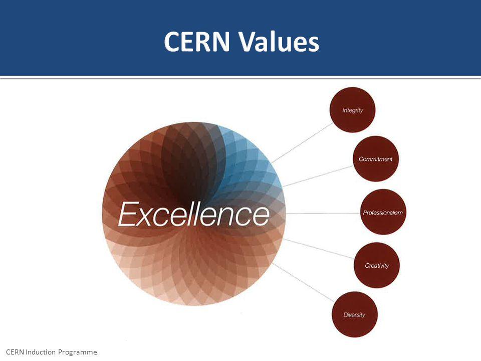 CERN Induction Programme – Geneviève Guinot TECHNICAL COMPETENCIES BEHAVIOURAL COMPETENCIES CERN Induction Programme