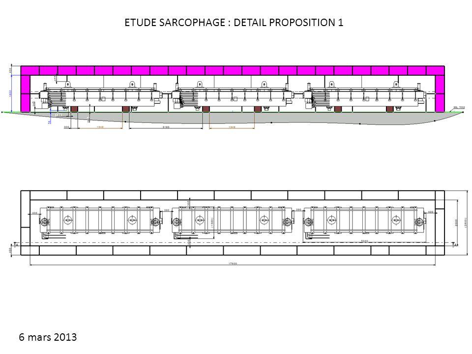 ETUDE SARCOPHAGE : DETAIL PROPOSITION 1 6 mars 2013