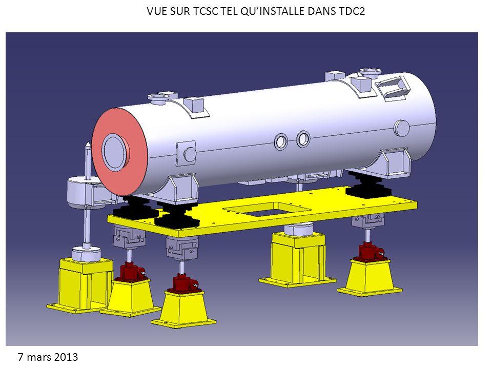 VUE SUR TCSC TEL QUINSTALLE DANS TDC2 7 mars 2013