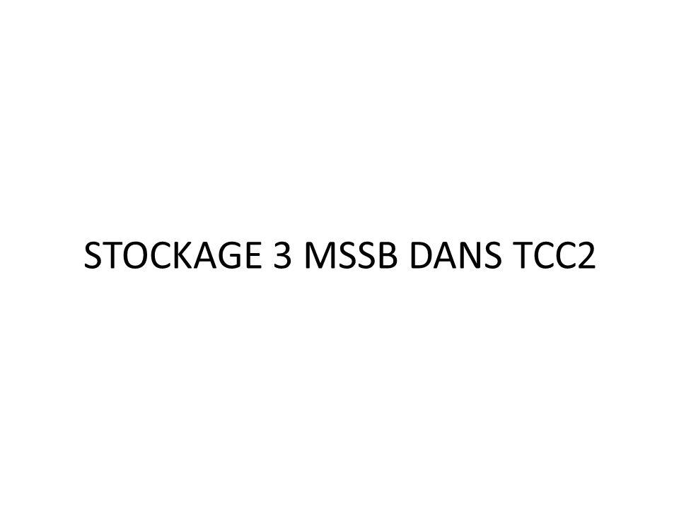 STOCKAGE 3 MSSB DANS TCC2