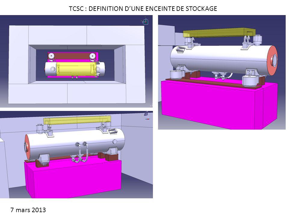 TCSC : DEFINITION DUNE ENCEINTE DE STOCKAGE 7 mars 2013