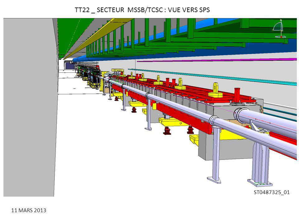 TT22 _ SECTEUR MSSB/TCSC : VUE VERS SPS 11 MARS 2013 ST0487325_01
