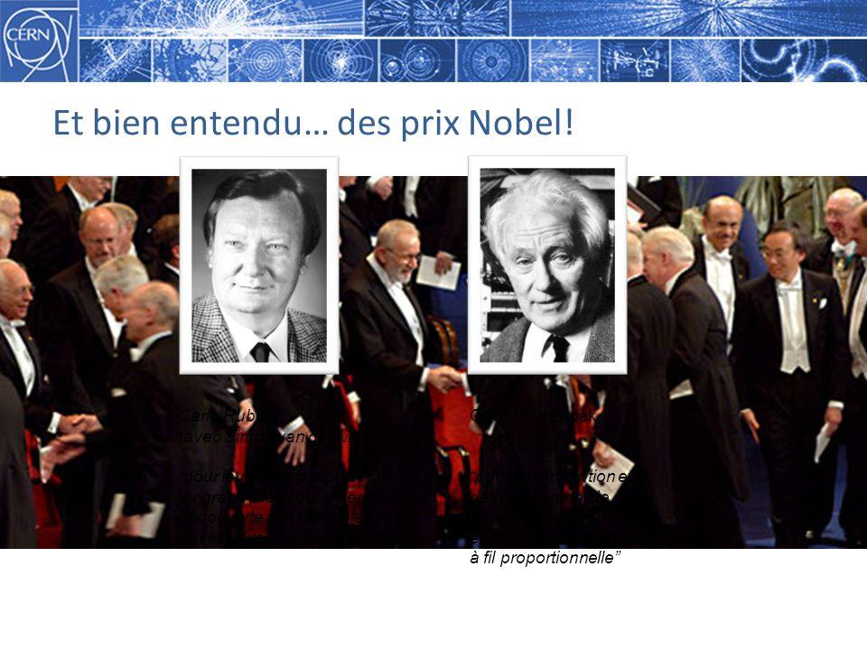 Et bien entendu… des prix Nobel.