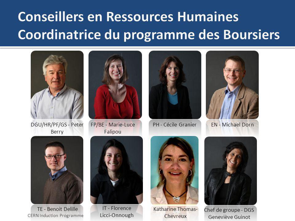 DGU/HR/PF/GS - Peter Berry FP/BE - Marie-Luce Falipou PH - Cécile GranierEN - Michael Dorn TE - Benoit Delille Chef de groupe - DGS Geneviève Guinot C