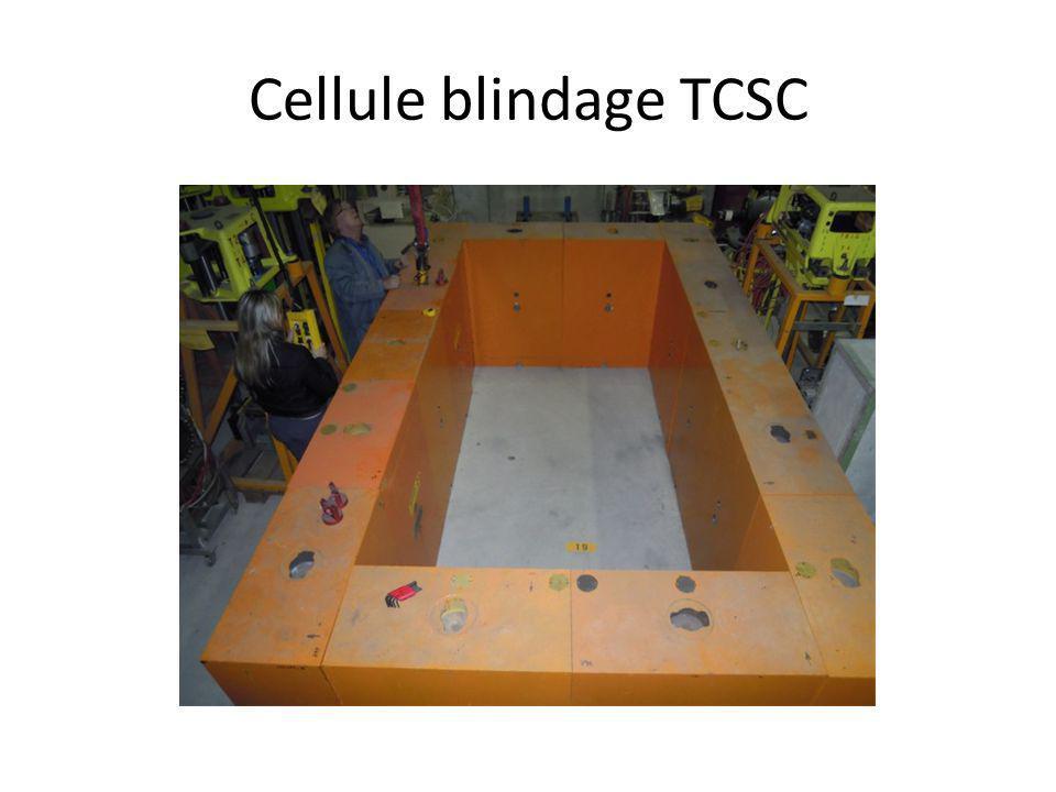 Cellule blindage TCSC