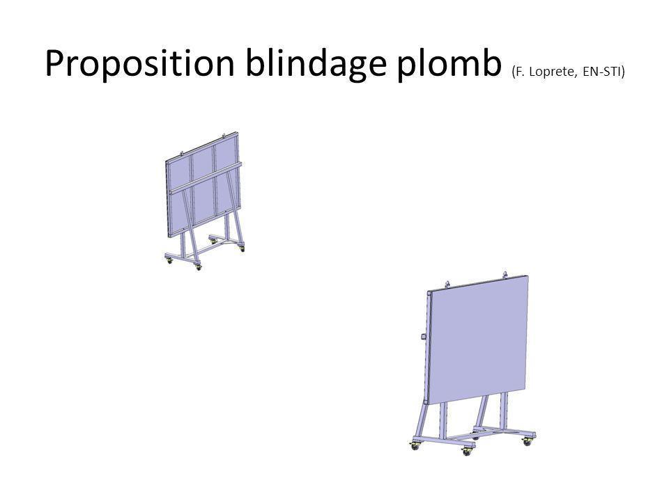 Proposition blindage plomb (F. Loprete, EN-STI)