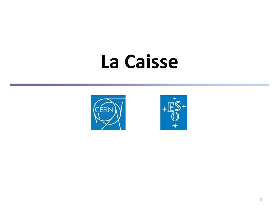 2 La Caisse