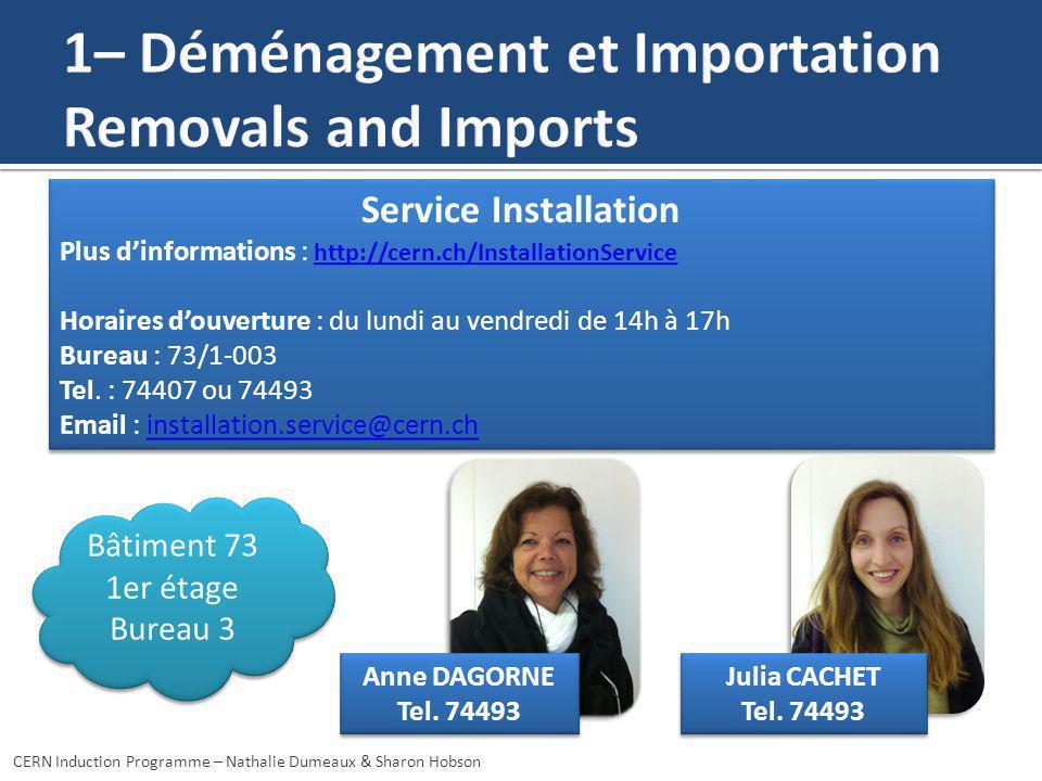 CERN Induction Programme – Nathalie Dumeaux & Sharon Hobson