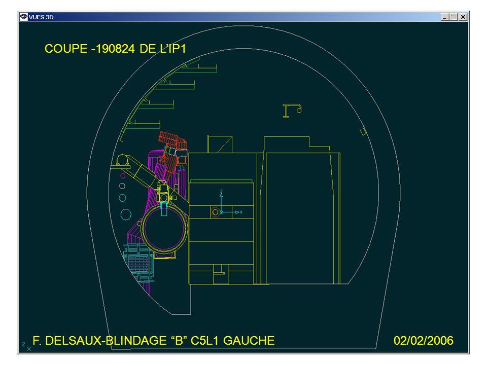 F. DELSAUX-BLINDAGE B C5L1 GAUCHE02/02/2006 COUPE -190824 DE LIP1