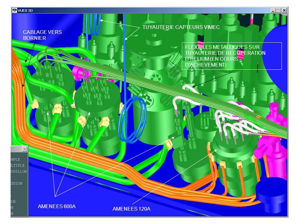 SUPPORTAGE GAUCHE ELECTROVANNES BURKERT 6023 (7.5KA) ELECTROVANNE BURKERT 2382 (120 & 600A) 5 ELCTROV.