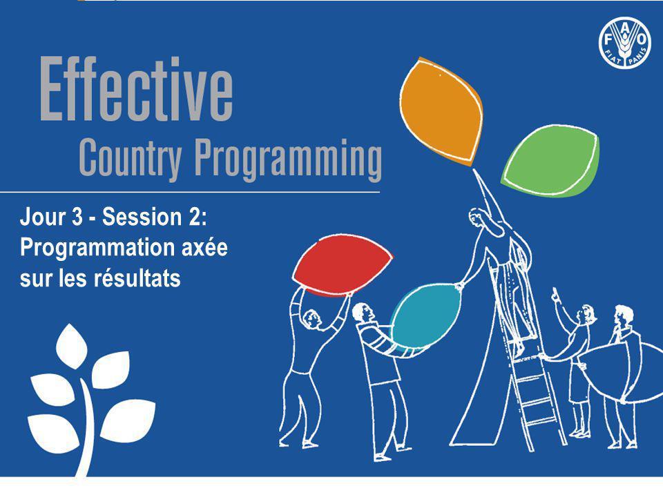 Jour 3 - Session 2: Programmation axée sur les résultats