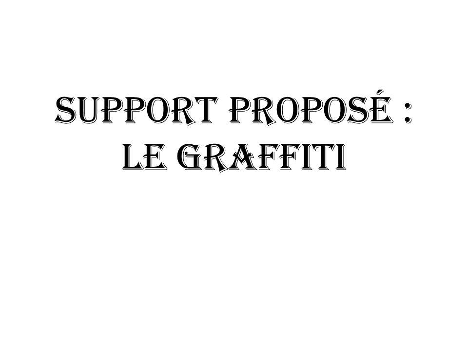 Support proposé : le GRAFFITI