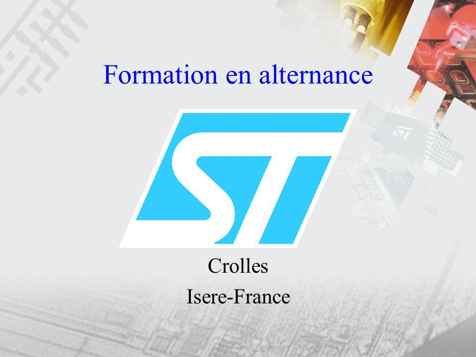 Formation en alternance Crolles Isere-France